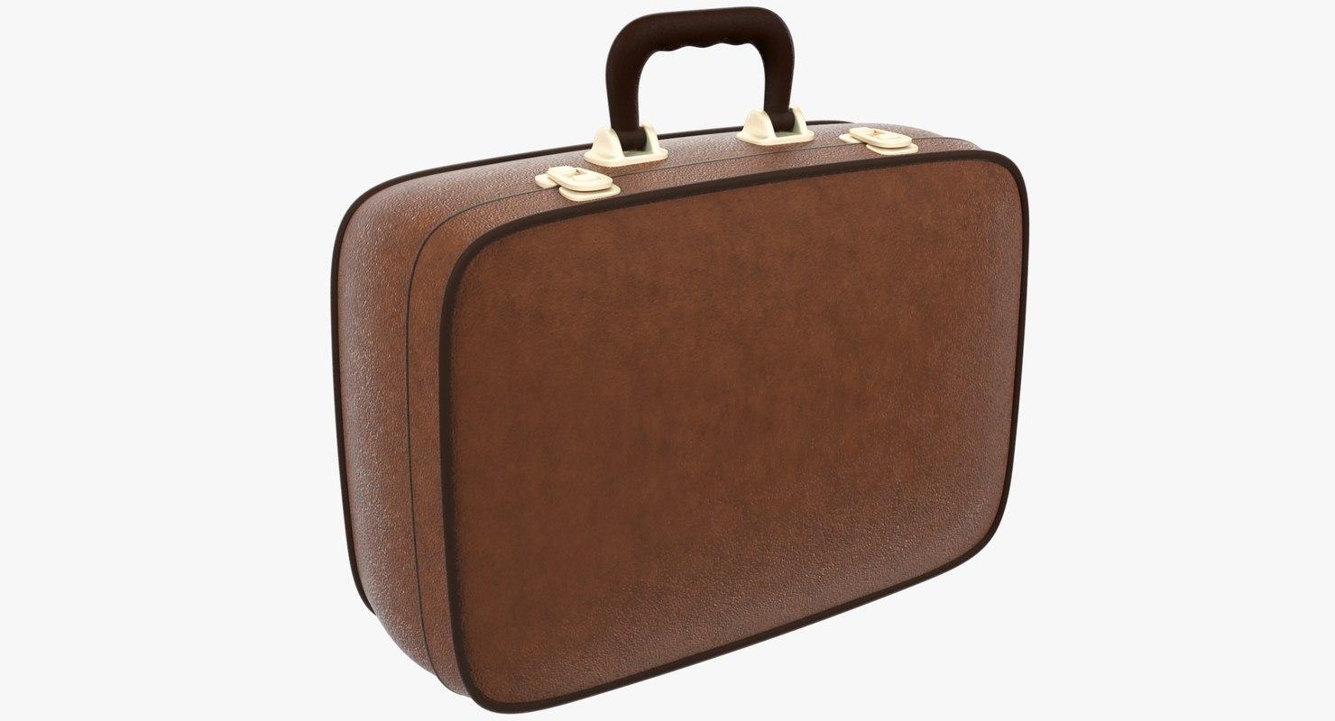 3D leather case model