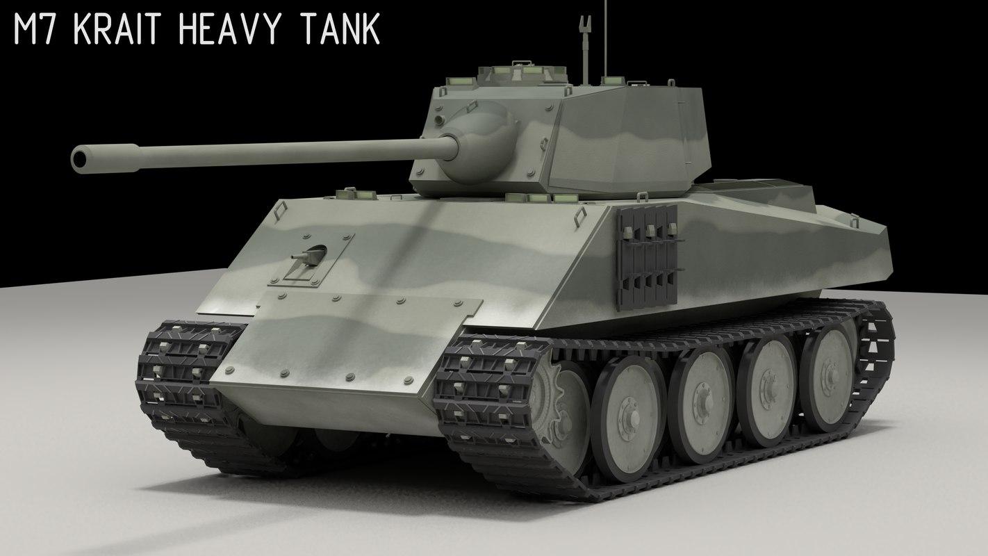 panzer tank 3D