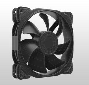 3D cpu fan