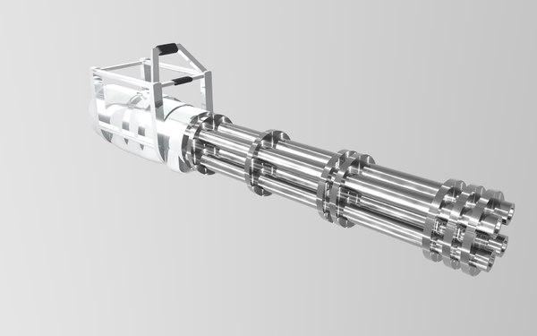 minigun gun model