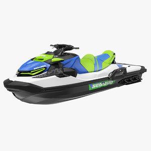 sea doo jet ski 3D