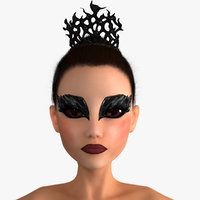 Black Swan Ballerina Character