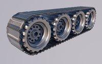 tank wheel model
