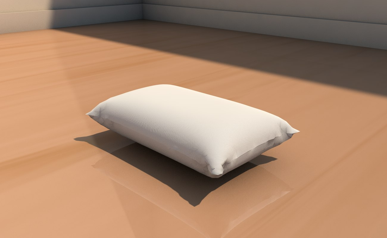 pillow interior home 3D