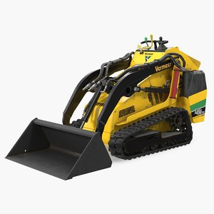 vermeer s450tx loader bucket 3D model