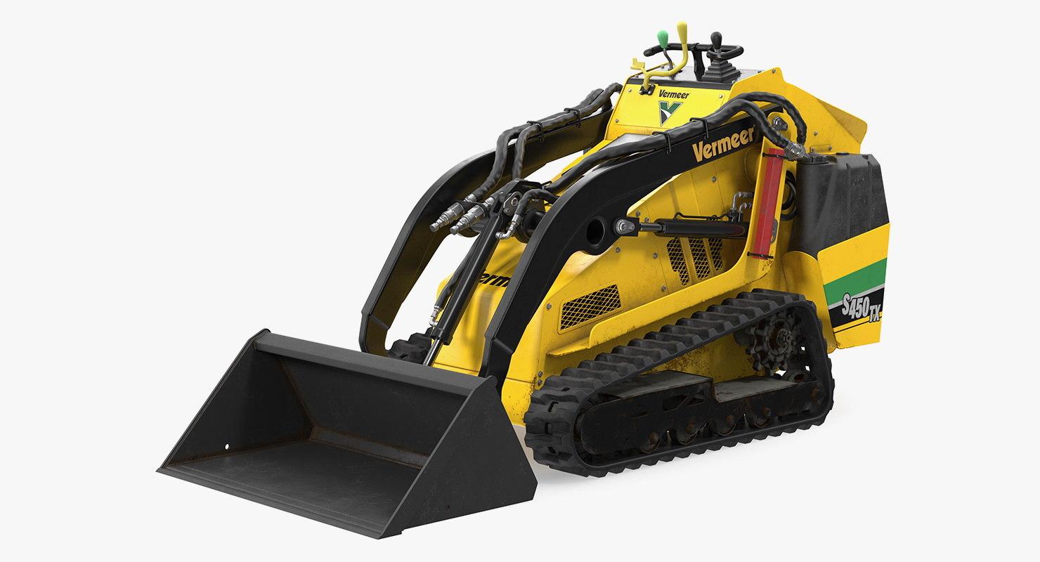 vermeer s450tx loader bucket 3D model