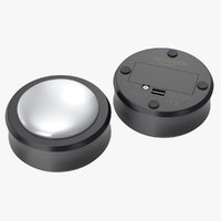 amazon echo button 3D model