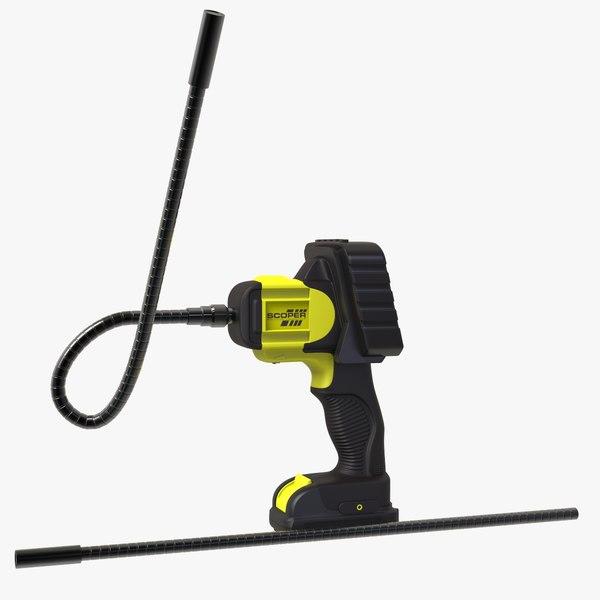 inspection camera 3D model