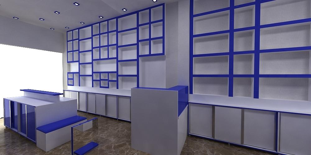 workplace design 3D