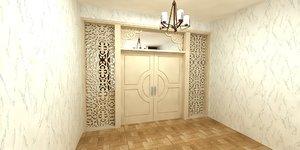 3D design door model