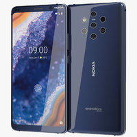 3D model realistic nokia 9 pureview
