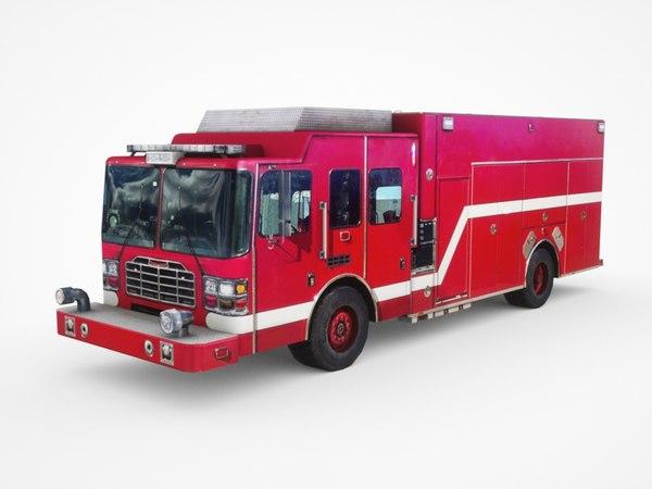 ferrara hme rescue pumper 3D