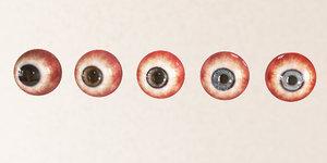 3D eye iris