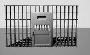 3D prison cell doors