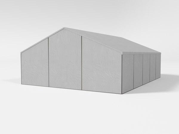 3D tent pavilion marquee