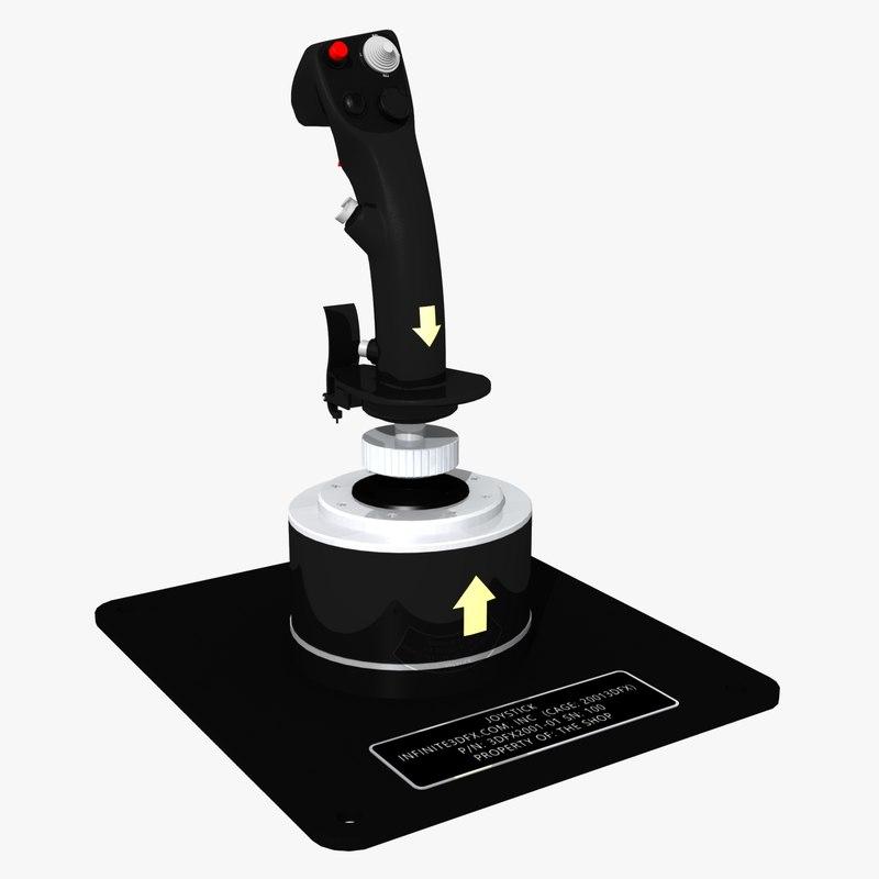 3D joystick thrustmaster