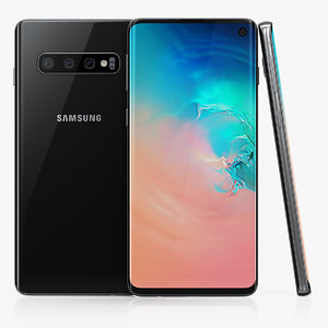 3D samsung galaxy s10 model