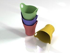 italy alessi trash design 3D