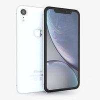 apple iphone xr white model