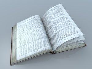 described open book model