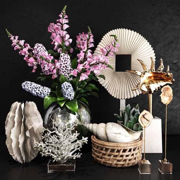 3D model decorative set 35
