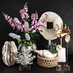3D model decorative set 35