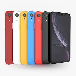apple iphone xr 3D model