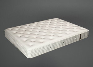 bed furniture interior 3D model