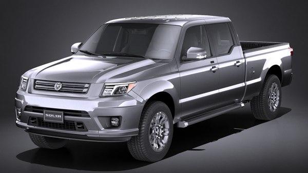 generic pickup 2015 3D model