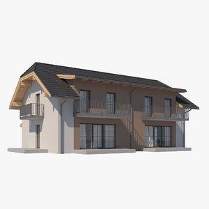 house roof 3D model