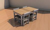 table cadiras model