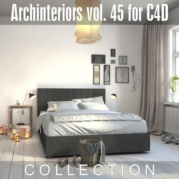 archinteriors vol 45 home interior 3D