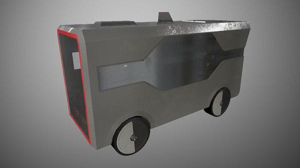 locker vehicle 3D