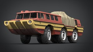 3D soviet vehicle 2 model