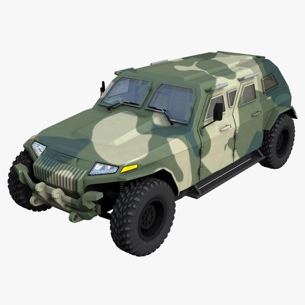 engine cars 3D model