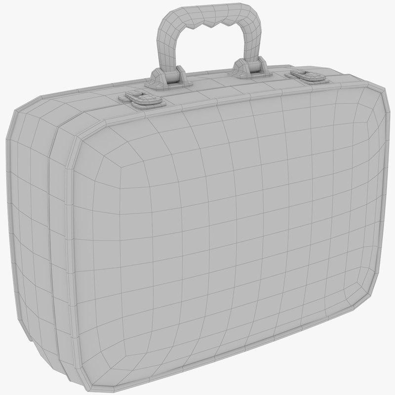 vintage case mesh 3D model