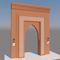 Traditional Moroccan Door