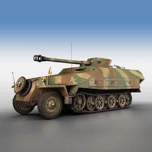 sd kfz 251 22 3D