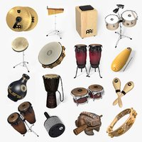 ultimate percussion set 3D