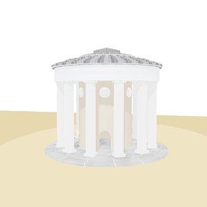 3D building temple