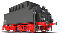 coal tender 3D model
