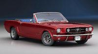 Ford Mustang GT 1965 Cabrio (Low Interior)