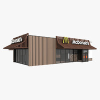McDonalds McCafe Restaurant