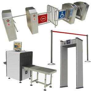 3D security barrier
