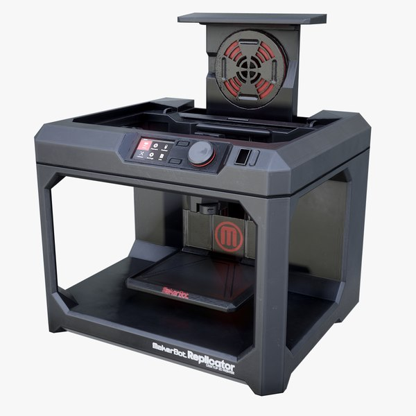 3d maker bot replicator printer model