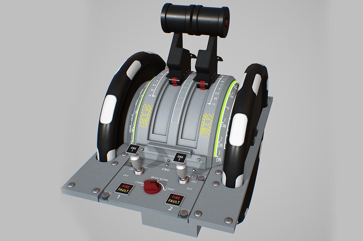 throttle quadrant 3D