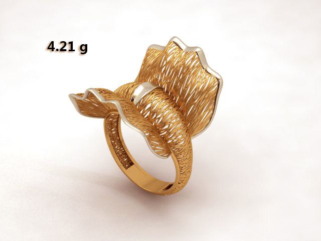 engaged jewelry 3D model