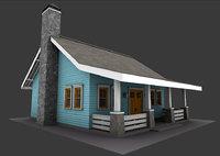 little bungalow 3D model