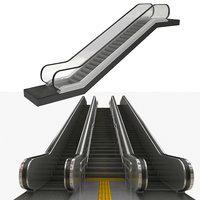 escalator subway 3D model