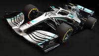 F1 Mercedes AMG W10 2019